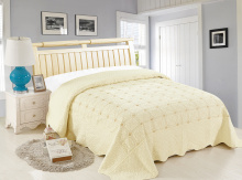Покрывало Lux Cotton Вышивка 240*240 диз. Нега