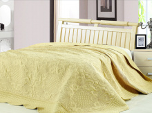 Покрывало Lux Cotton Вышивка 240*240 диз. Ампир